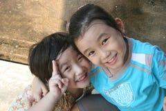Miúdos felizes Imagens de Stock