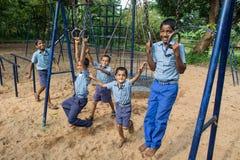 Miúdos indianos Imagem de Stock