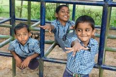 Miúdos indianos Foto de Stock