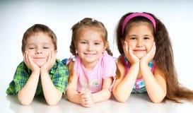 Miúdos pequenos Fotografia de Stock