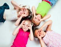 Miúdos pequenos Foto de Stock Royalty Free
