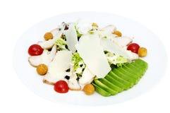 mięśni sałatkowi warzywa Fotografia Stock