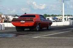 Mięśnia czerwony Amerykański Samochód Zdjęcie Royalty Free