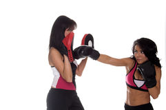 mięśnie ogniska szkolenia Zdjęcie Royalty Free