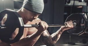 mięśniowa bodybuilder samiec Obraz Stock