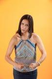 mięśniowa kobieta Obrazy Royalty Free