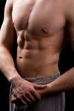 Mięśniowa półpostać mężczyzna zdjęcie stock
