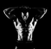Mięśniowy facet zdjęcia stock