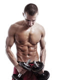 Mięśniowy mężczyzna Zdjęcie Royalty Free