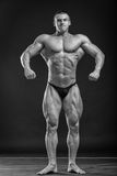 Mięśniowy mężczyzna bodybuilder Fotografia Stock