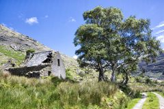 Mięczaka ` s chałupa w Kerry ` s czerni dolinie Fotografia Stock