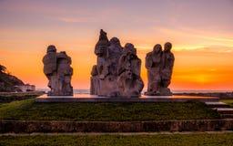 Między dwa światami Pontevedra, Hiszpania Fotografia Royalty Free