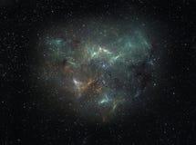 Międzygwiazdowa chmura royalty ilustracja
