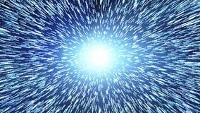 międzygwiazdowy czas podróż i hiper- skok w przestrzeni Singularity, grawitacyjne fala i spacetime pojęcie, royalty ilustracja