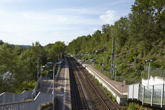 Międzymiastowy dworzec essen (S-Bahn) (Niemcy) zdjęcie stock