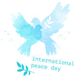 Międzynarodowa dzień pocztówka Zdjęcie Stock