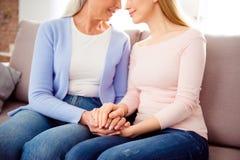 Międzynarodowa kobiety ` s dnia macierzyństwa pokolenia przyjaźń frien Zdjęcie Royalty Free