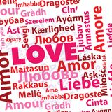 międzynarodowa miłość Obraz Stock