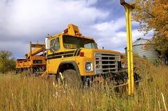 Międzynarodowa oszczędnościowa wiadro ciężarówka Zdjęcie Royalty Free