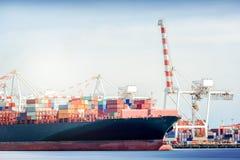 Międzynarodowa transport wysyłka Zdjęcie Stock