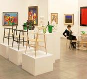Międzynarodowa wystawa nowożytny i dzisiejsza ustawa Obraz Stock