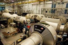 Międzynarodowej Staci Kosmicznej Mockup Zdjęcia Stock