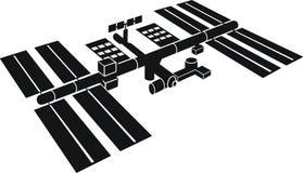 międzynarodowej stacji kosmicznej ilustracja wektor