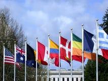 międzynarodowej współpracy Zdjęcia Stock