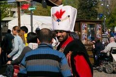 Międzynarodowy Children festiwal, 23 Nisan (Turecki święto narodowe) Zdjęcie Stock