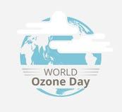 Międzynarodowy dzień dla konserwaci ozon warstwa Zdjęcia Stock