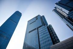 Międzynarodowy handel Centrei Hong Kong, (ICC) obrazy stock