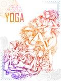 Międzynarodowy joga dzień Zdjęcia Stock