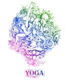 Międzynarodowy joga dzień Obrazy Stock