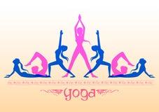 Międzynarodowy joga dzień Zdjęcia Royalty Free