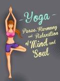 Międzynarodowy joga dzień Zdjęcie Stock