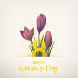 Międzynarodowy kobiety ` s dzień Fotografia Royalty Free