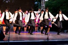 Międzynarodowy ludowego tana festiwal, Pécs Węgry obrazy stock