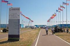 międzynarodowy militarny salon zdjęcie stock