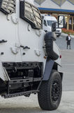 Międzynarodowy Militarny wyposażenie jarmark - Bucharest Zdjęcia Stock