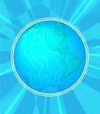 Międzynarodowy pokoju dzień Września 21st tła szablon dla plakata lub sztandaru projekta Pokojowa planety ziemia w a ilustracji