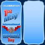 Międzynarodowy pracownika dzień, Pierwszy Maja świętowanie Obraz Stock