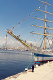 międzynarodowy regatta Varna, Bułgaria Obrazy Royalty Free
