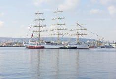Międzynarodowy regatta, Varna, Bułgaria Obraz Royalty Free