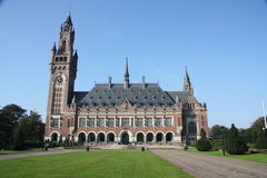Międzynarodowy sąd karny Fotografia Royalty Free