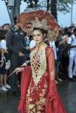 19 11 2017 Międzynarodowych Morskich, międzynarodowych 50 s flota przeglądu asean ` 2017 rocznicowa parada w Pattaya, Tajlandia Fotografia Royalty Free