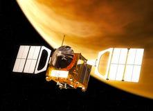 Międzyplanetarna stacja kosmiczna Orbituje Wenus ilustracji
