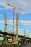 Międzystanowi 65 Bridżowych w budowie fotografia royalty free