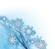 miękcy tło płatek śniegu Zdjęcie Royalty Free