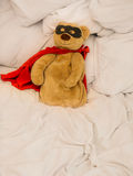 miękka część zabawkarski super bohater Obrazy Royalty Free