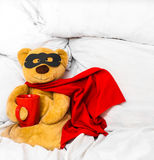 miękka część zabawkarski super bohater Fotografia Royalty Free
